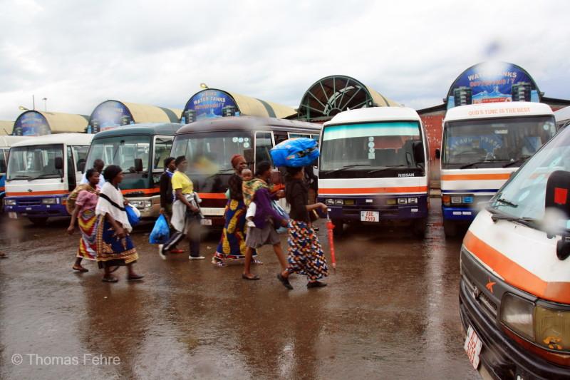 City Market in Lusaka, Sambia