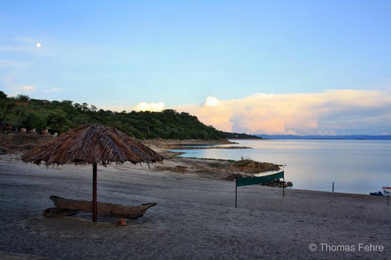 Ausblick vom Eagles Rest Resort auf den Lake Kariba, Sambia