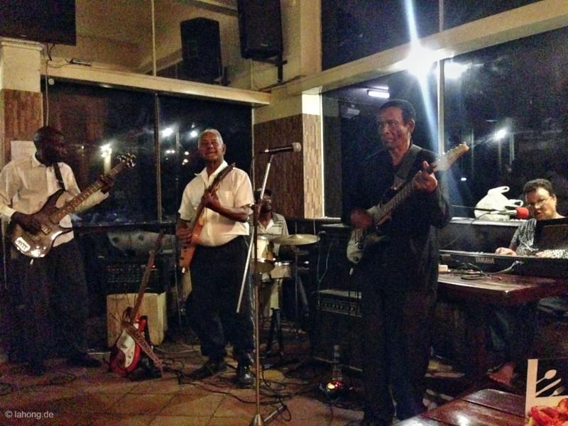 Jazzkapelle in Safari Club, Bulawayo, Simbabwe