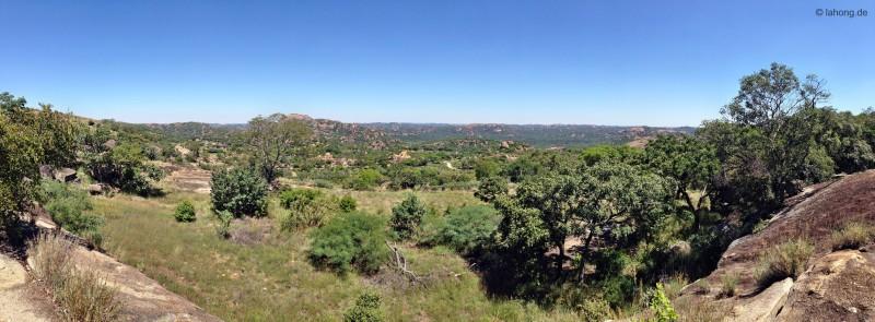 World View im Matopos Nationalpark, Simbabwe