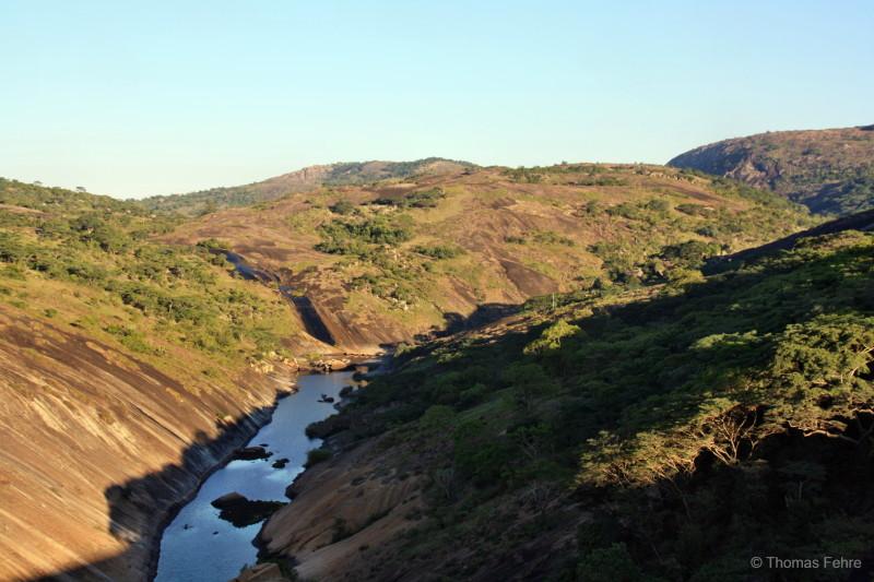 Lake Mutirikwi Staudamm, Simbabwe
