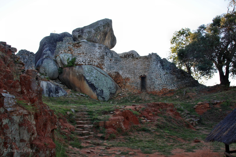 Hügelruinen von Great Zimbabwe, Simbabwe