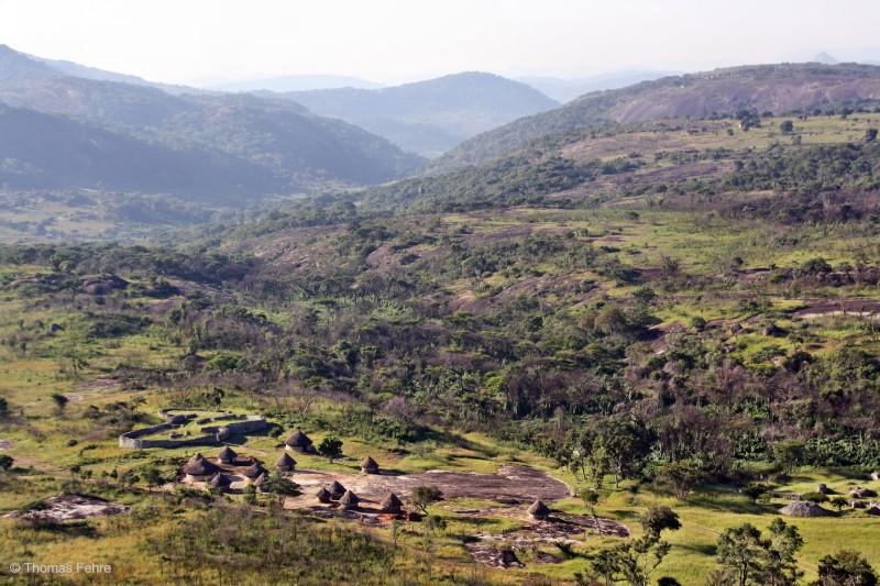 Shona-Dorf bei Great Zimbabwe, Simbabwe