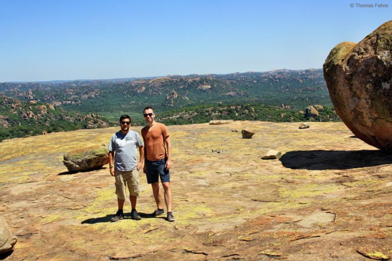World View im Matobo Nationalpark, Simbabwe