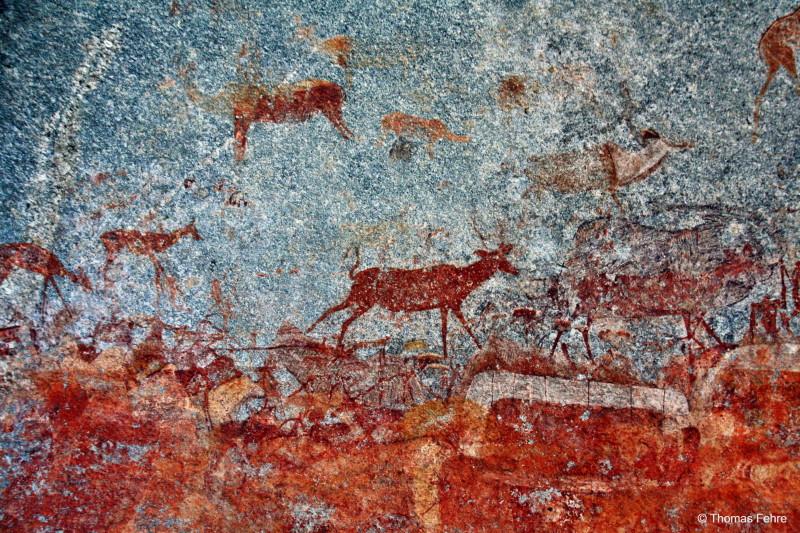 Nswatugi Cave im Matobo Nationalpark, Simbabwe
