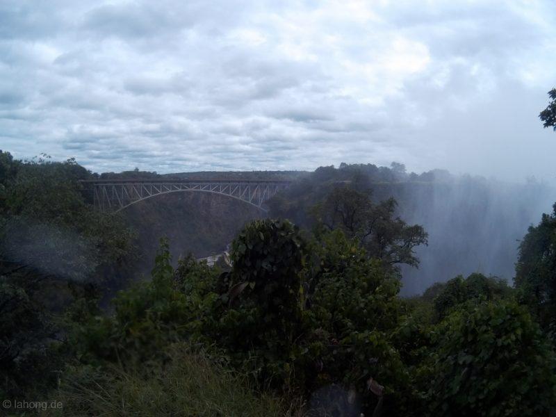 Victoria Falls Bridge, Sambia