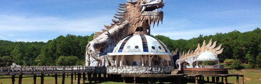 Ho Thuy Tien - verlassener Wasserpark bei Hue, Vietnam